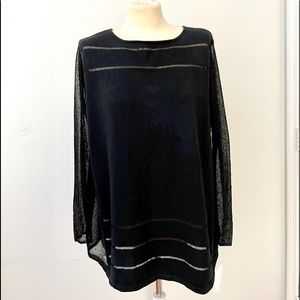 Animals black blouse